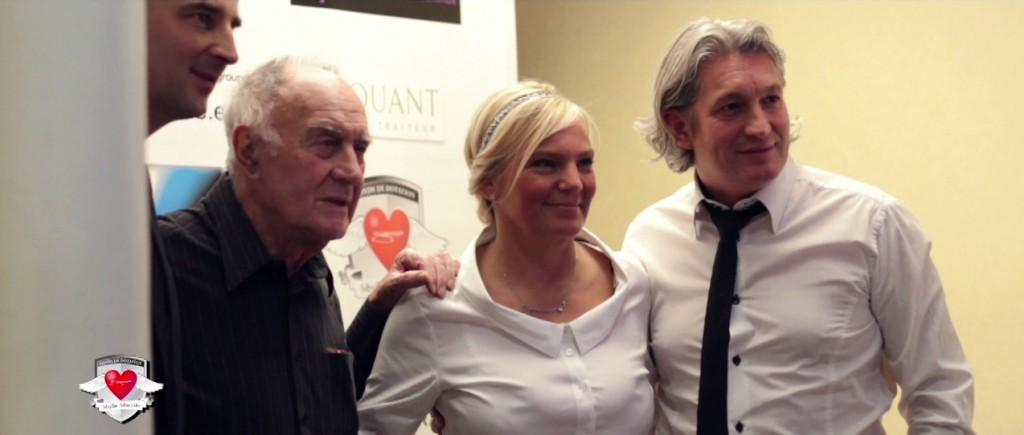 Rémy Julienne, Isabelle Sibierski et Christophe Leys